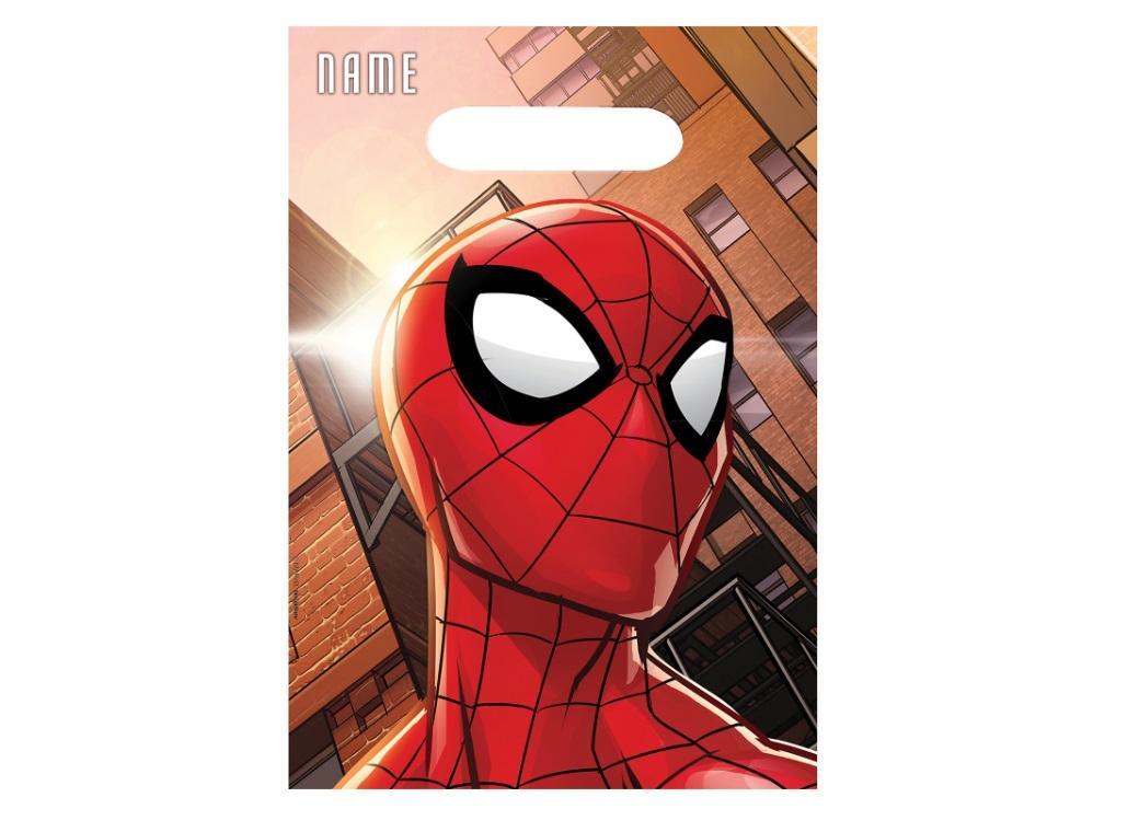 Spiderman Loot Bags 8pk