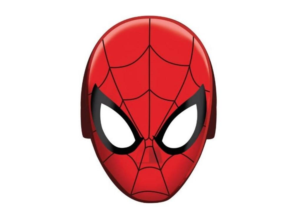 Spiderman Party Masks - 8pk