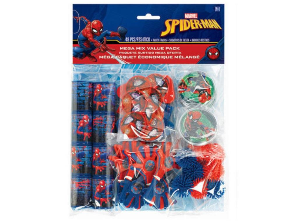 Spiderman Favour Pack 48pce