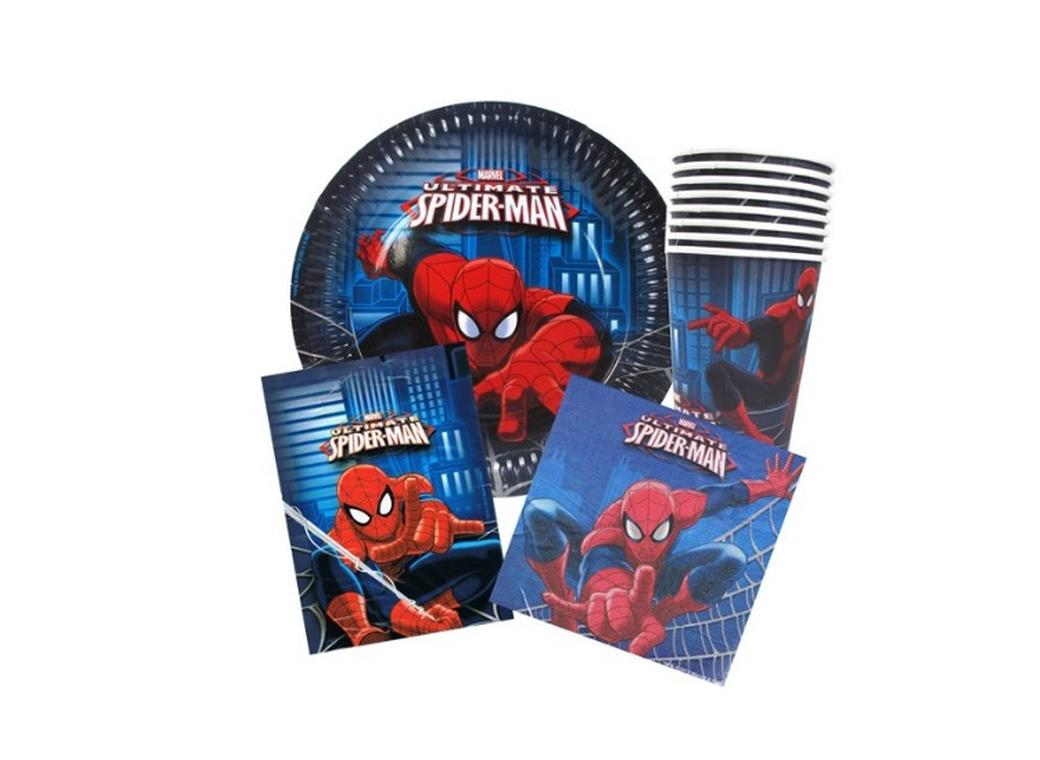 Spiderman Party Pack 40pce
