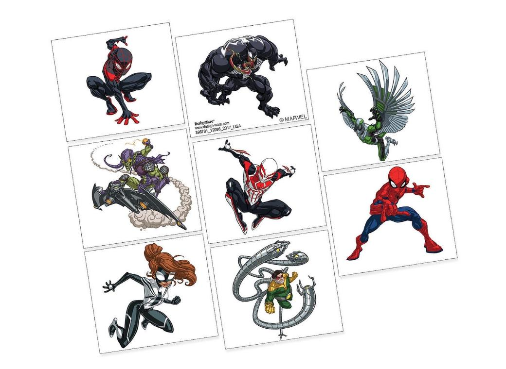 Spiderman - Tattoos