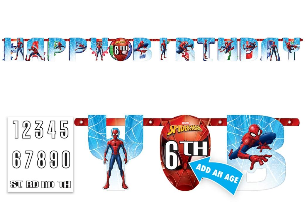 Spiderman Webbed Wonder Add An Age Banner