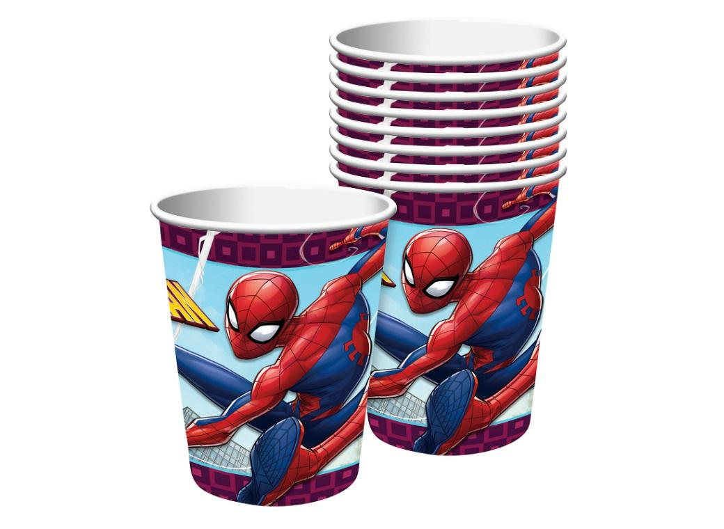 Spiderman Cups 8pk