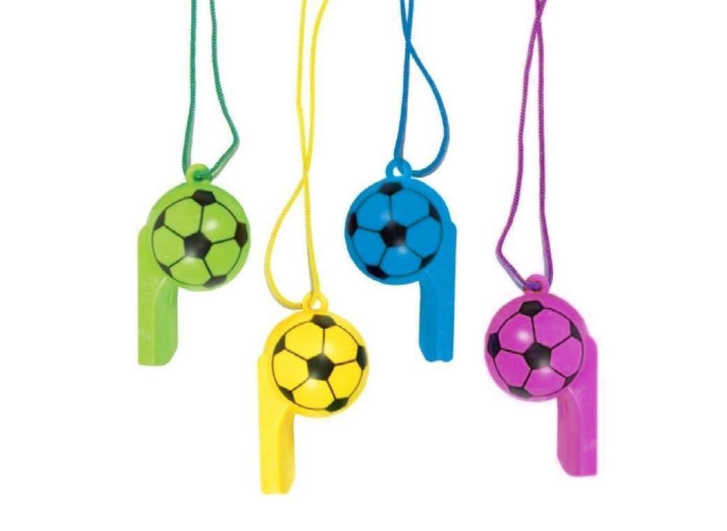 Party Favours - Soccer Whistles