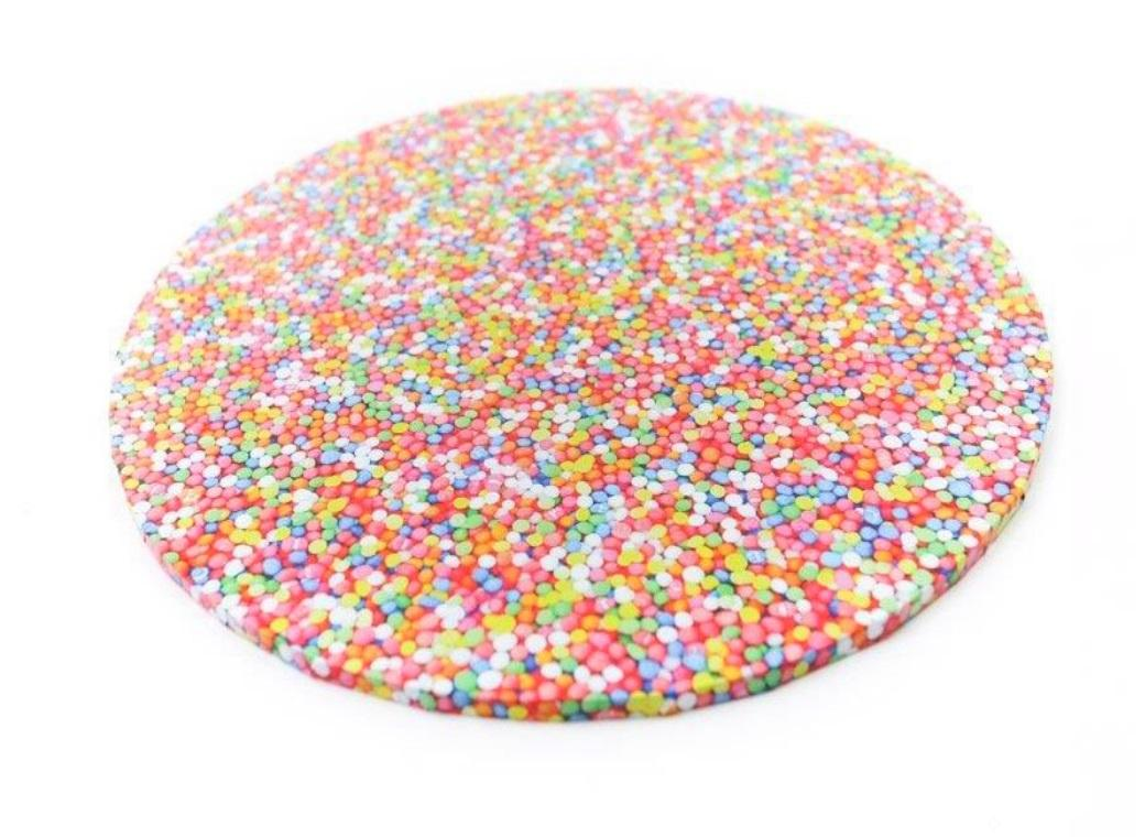 Sprinkles Masonite Cake Board Round 10""