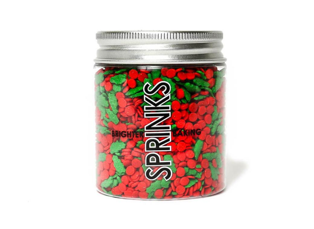 Sprinks Christmas Holly Blend Sprinkles