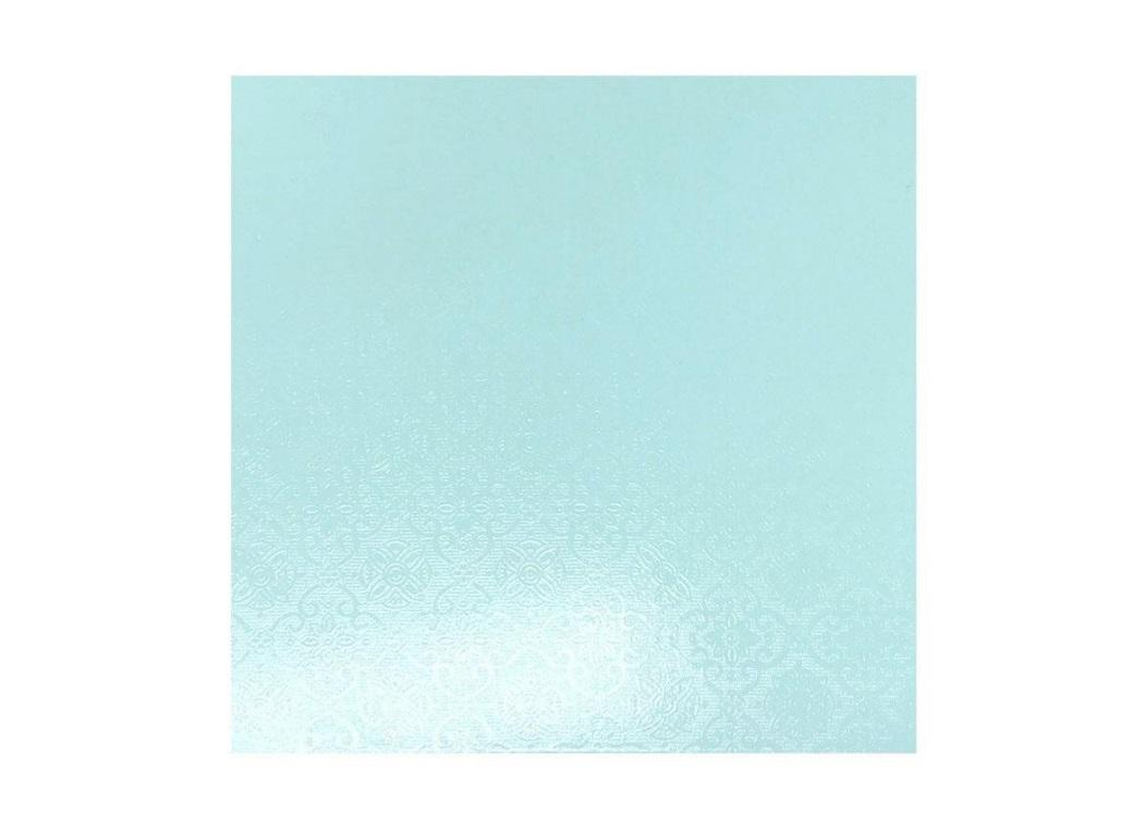 Blue Masonite Cake Board Square - 10""