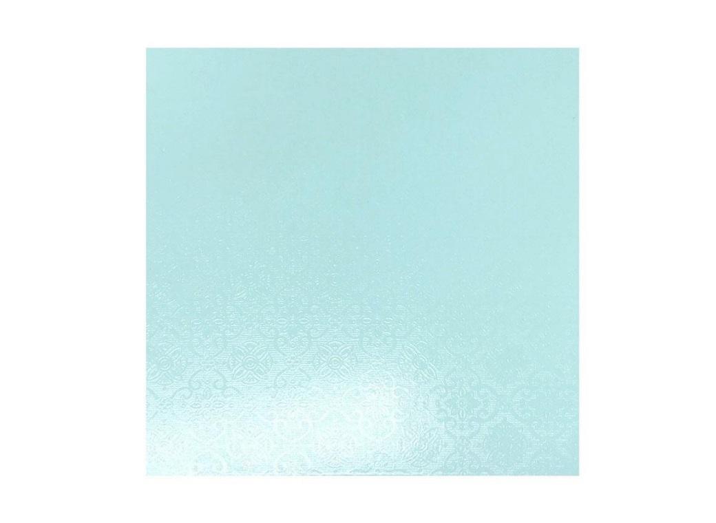"""Blue Masonite Cake Board Square - 10"""""""