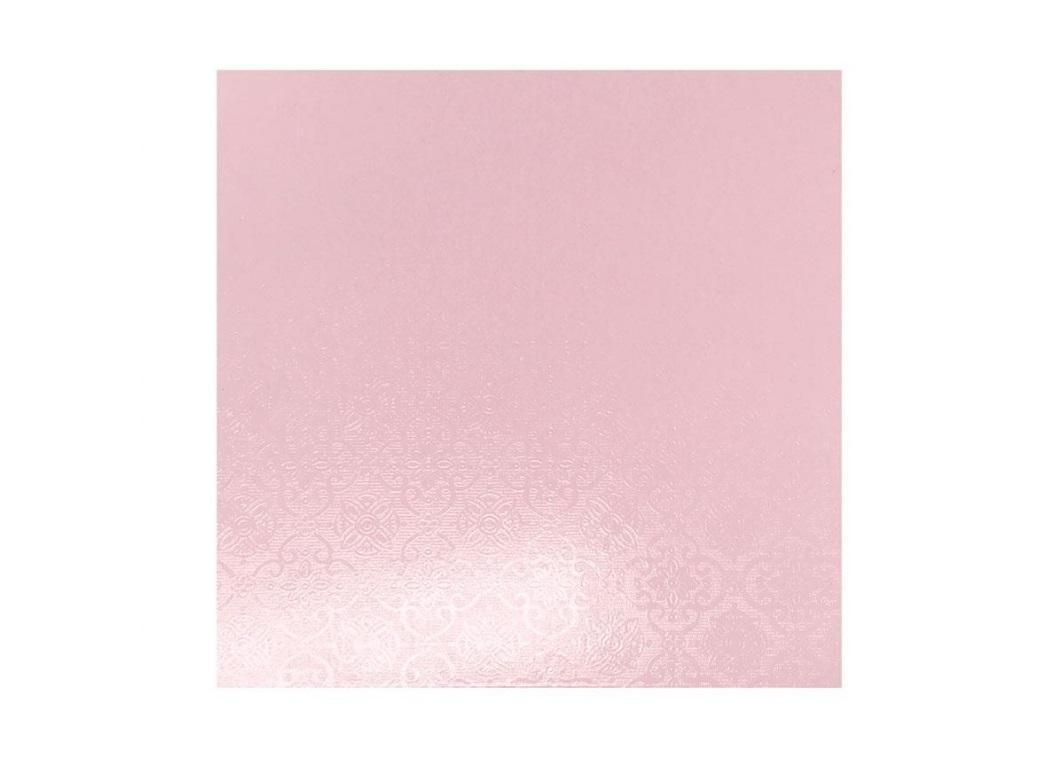 """Pink Masonite Cake Board Square - 10"""""""