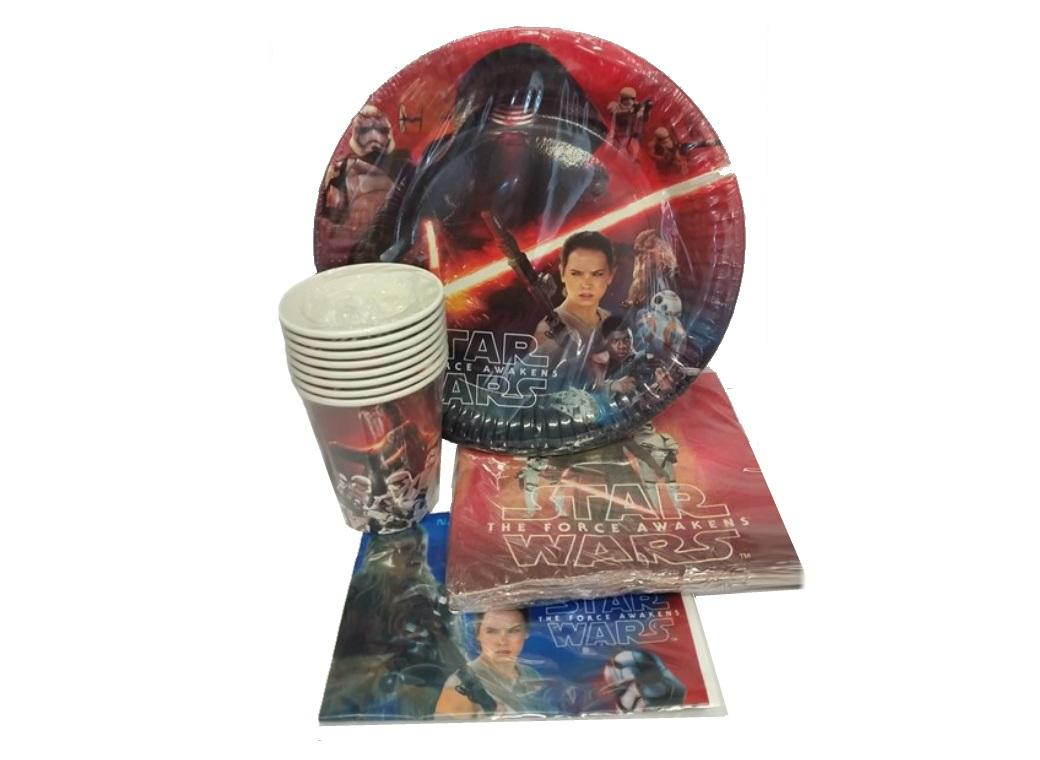 Star Wars The Force Awakens Party Pack - 40PCE