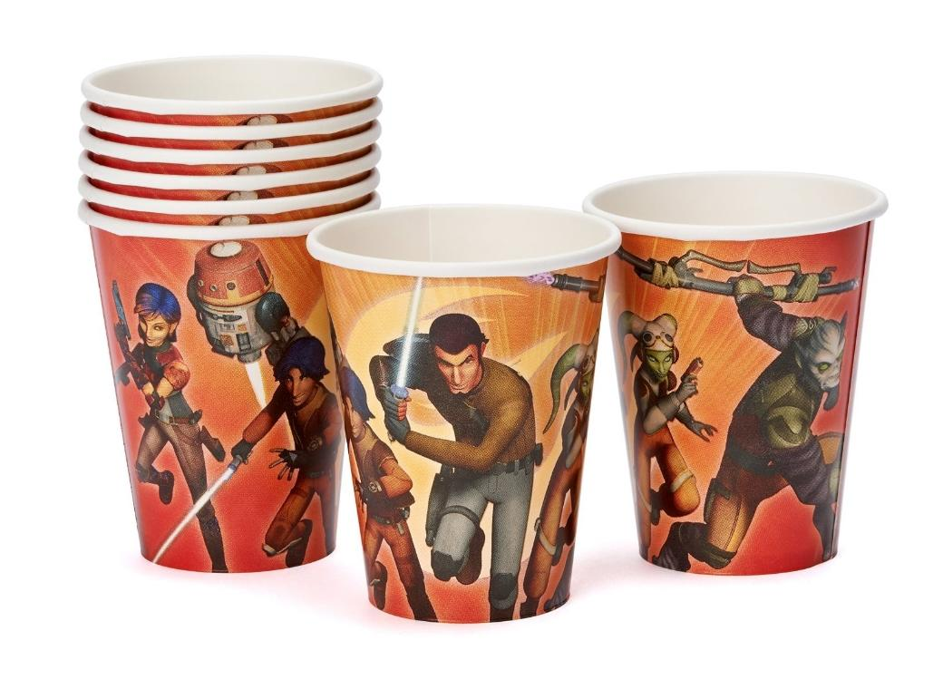 Star Wars Rebels - Cups 8pk