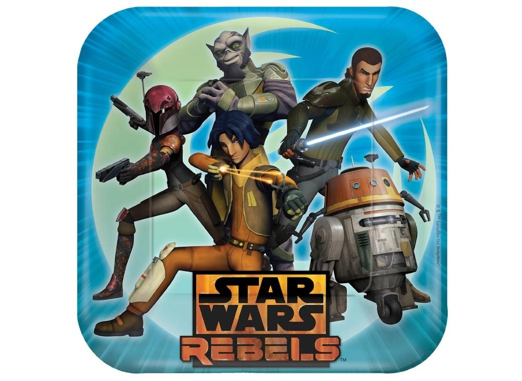 Star Wars Rebels - Dinner Plates 8pk