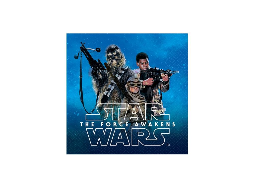 Star Wars The Force Awakens - Beverage Napkins