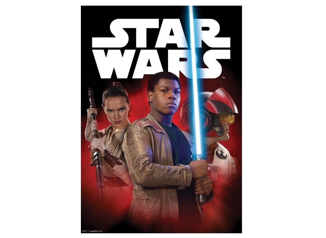 Edible Icing Image - Star Wars VII Heros A4