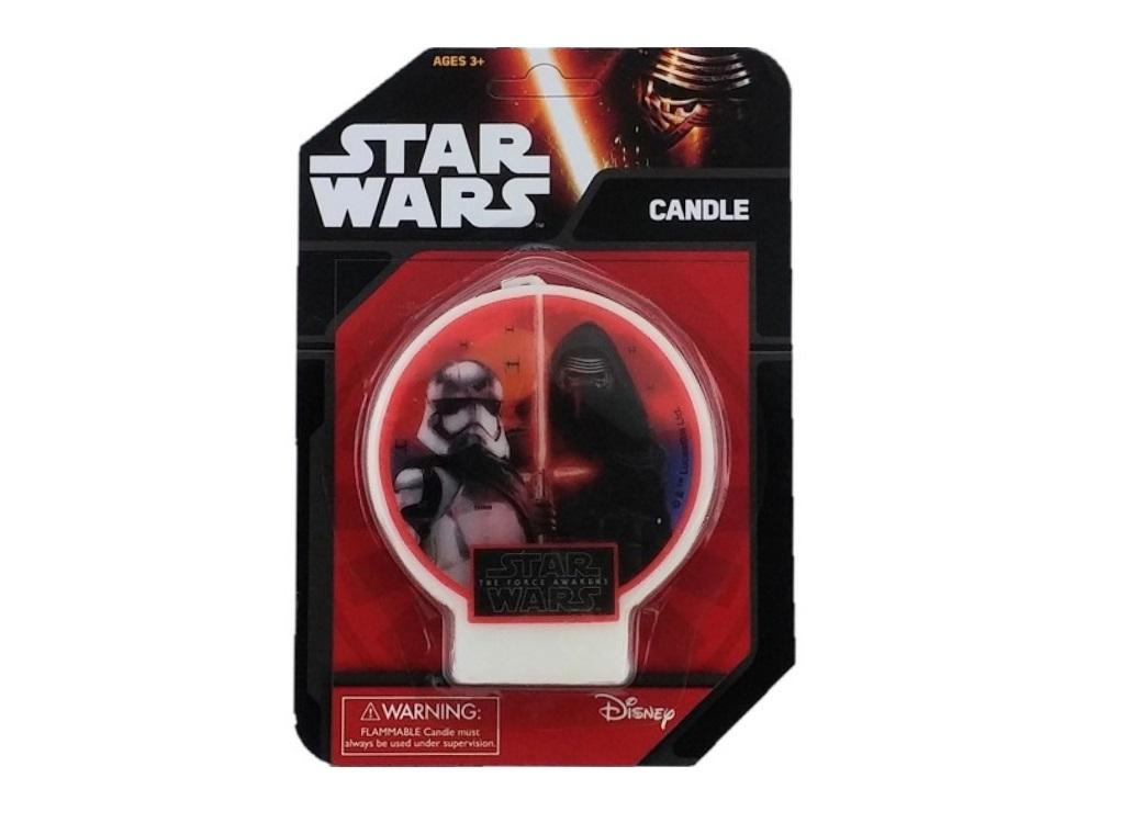 Star Wars The Force Awakens - Flat Candle