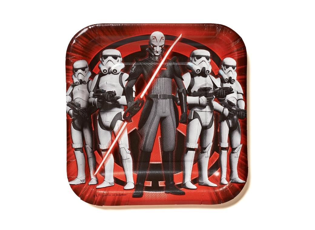 Star Wars Rebels - Lunch Plates 8pk