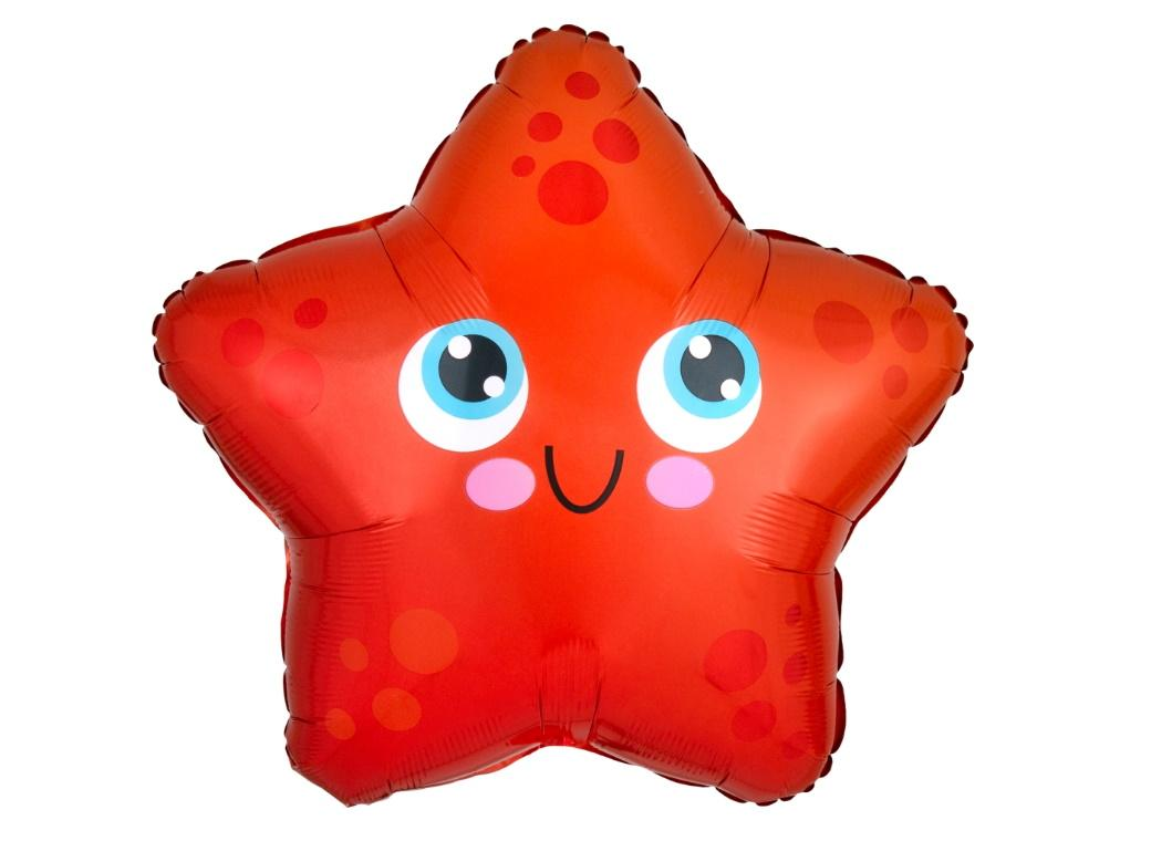 Starfish Shaped Foil Balloon
