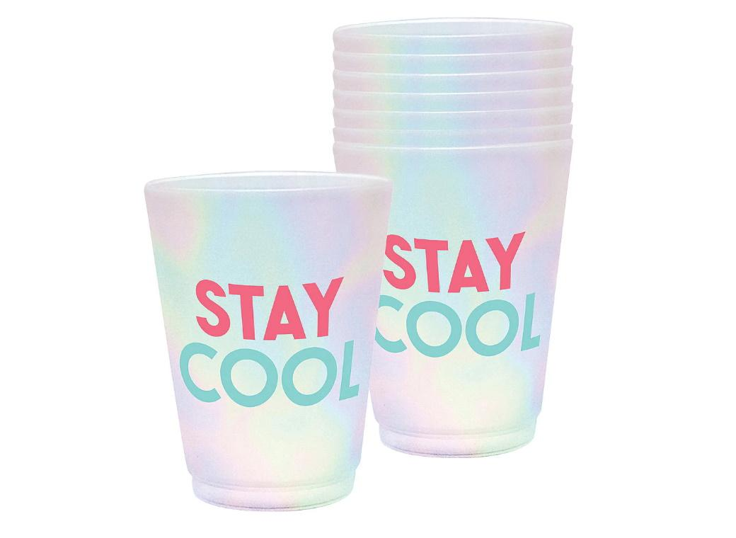 Just Chillin Frosted Tumblers 8pk