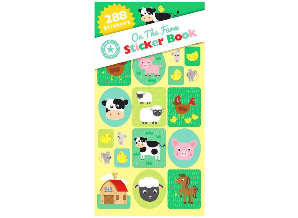 Sticker Book - On the Farm