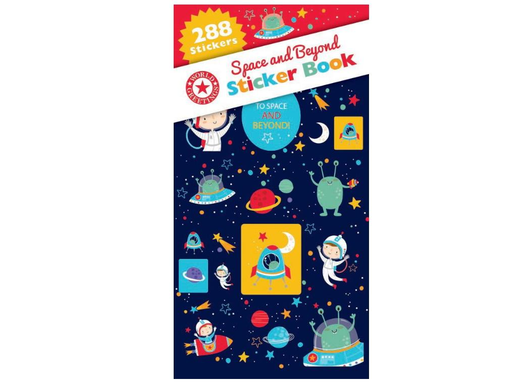 Sticker Book - Space & Beyond