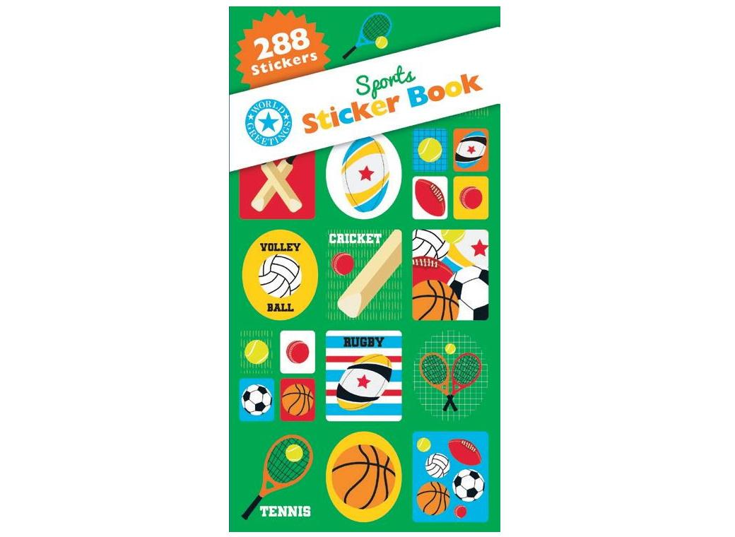 Sticker Book - Sports