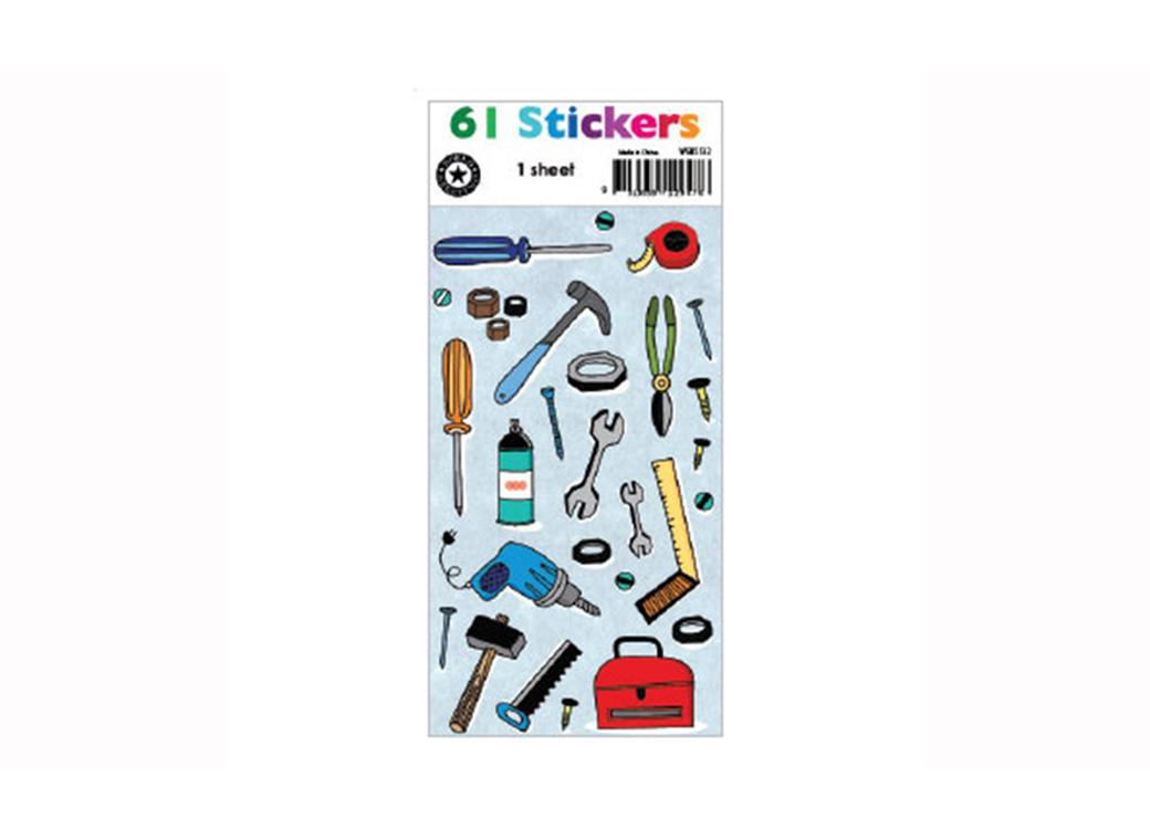 Stickers - Jumbo Hand Tools