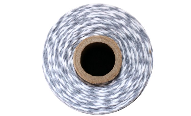 100% Cotton Bakers Twine – Stone