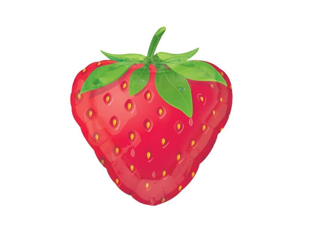 Strawberry Shape Foil Balloon