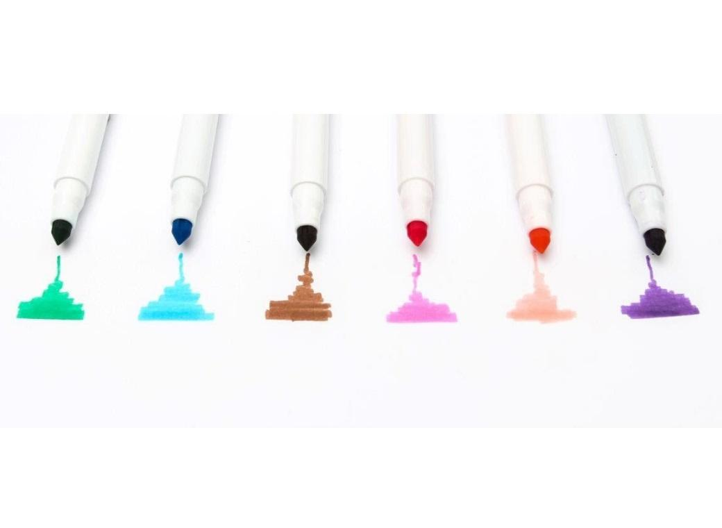Edible Marker Pens 6pk Set 2