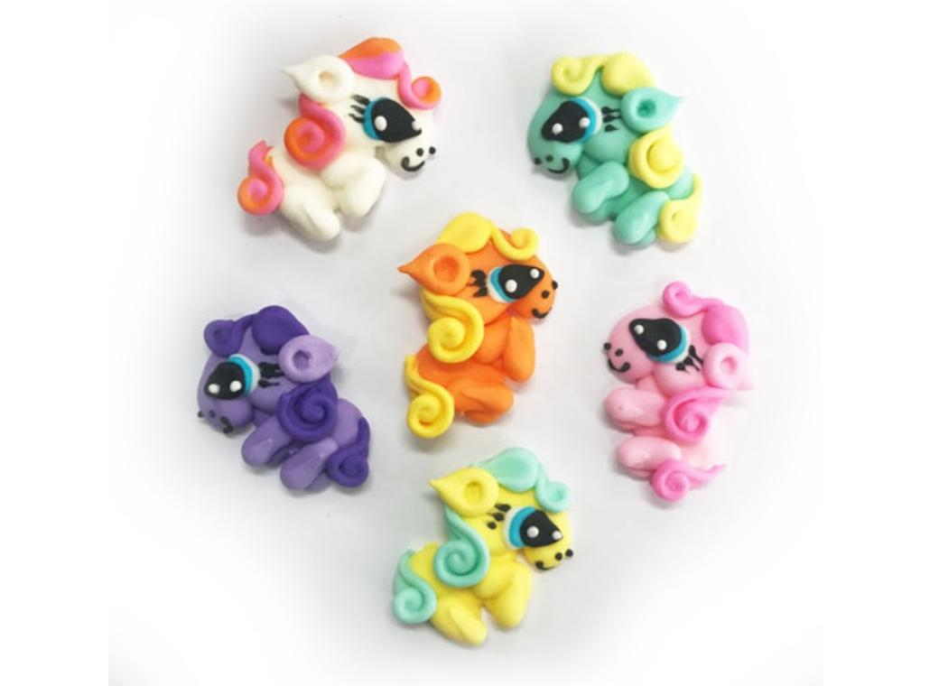 Sugar Icing Decorations 6pk - My Little Pony