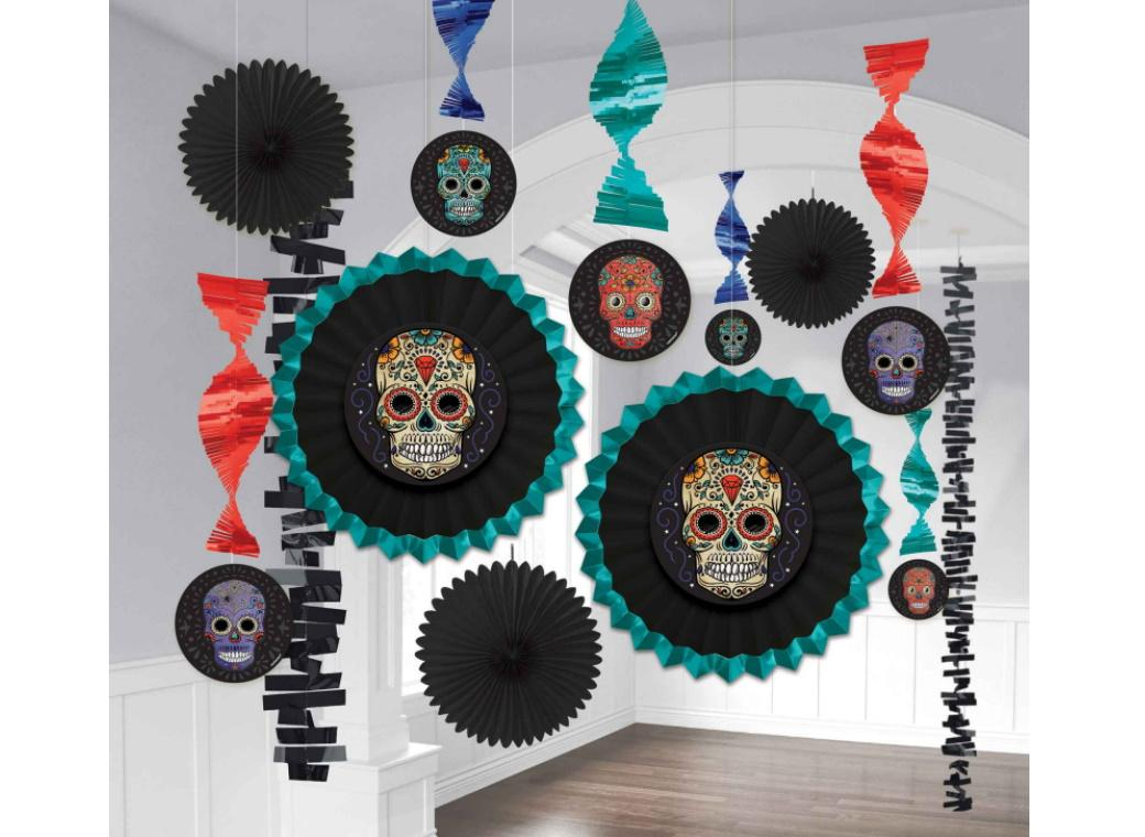 Sugar Skull Room Decorating Kit