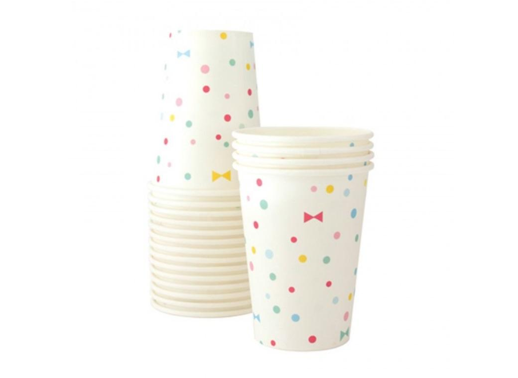 Paper Eskimo Paper Cups - Summer Bows