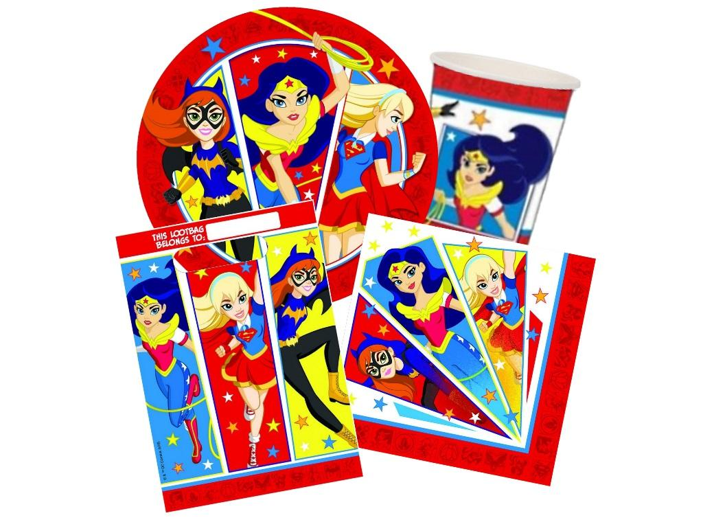 Super Hero Girls 40pce Party Pack