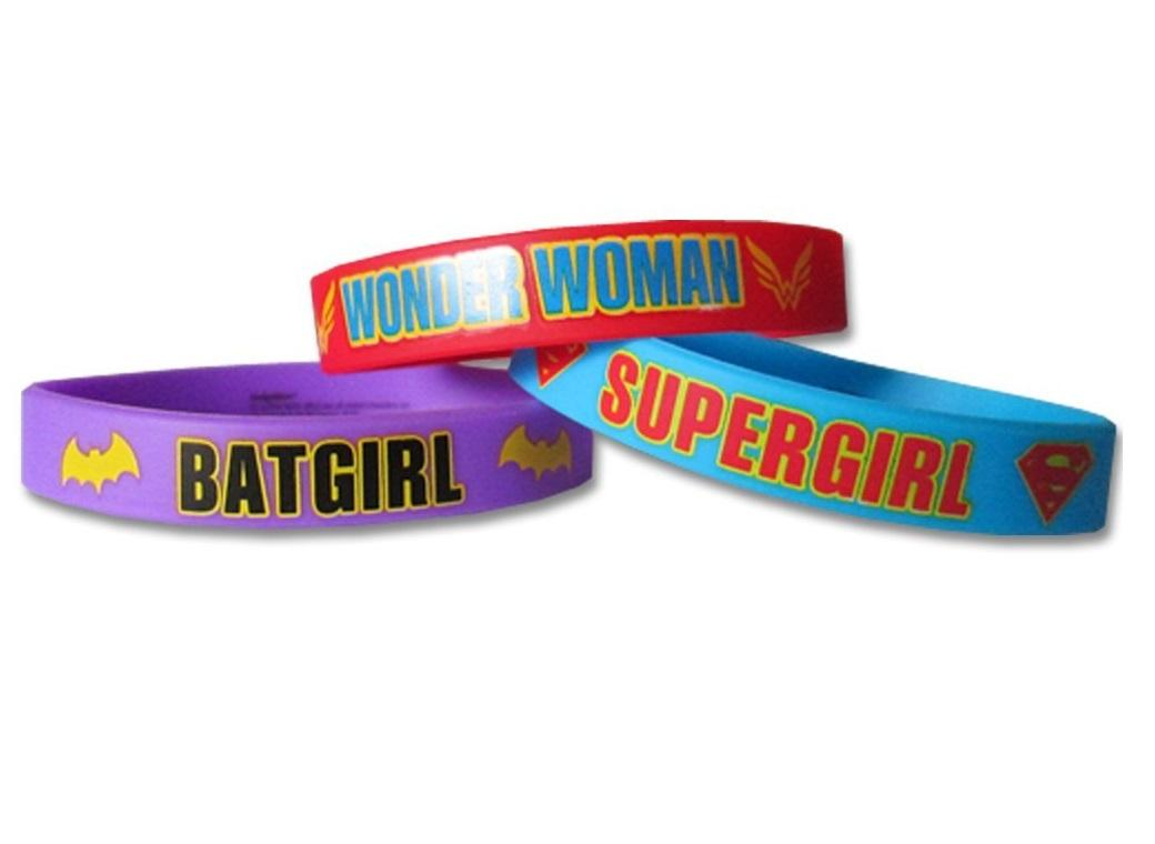 Super Hero Girls Bracelets 6pk