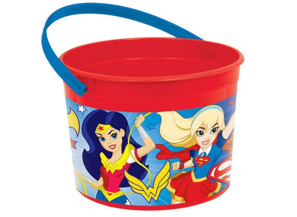 Super Hero Girls Favour Container