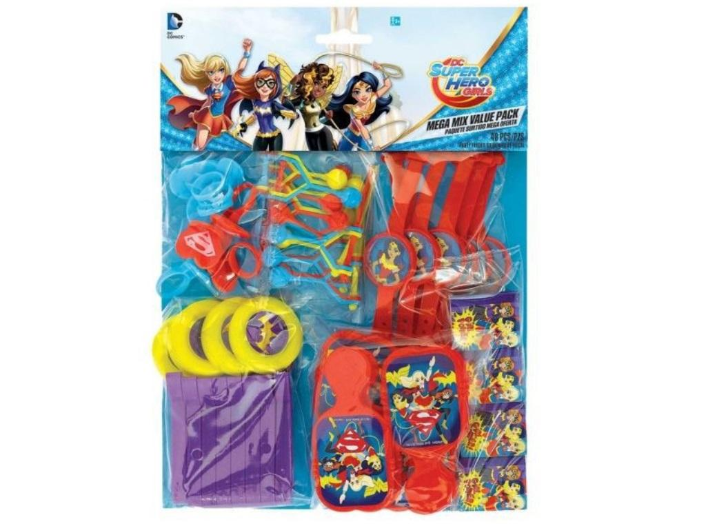 Super Hero Girls Favour Value Pack