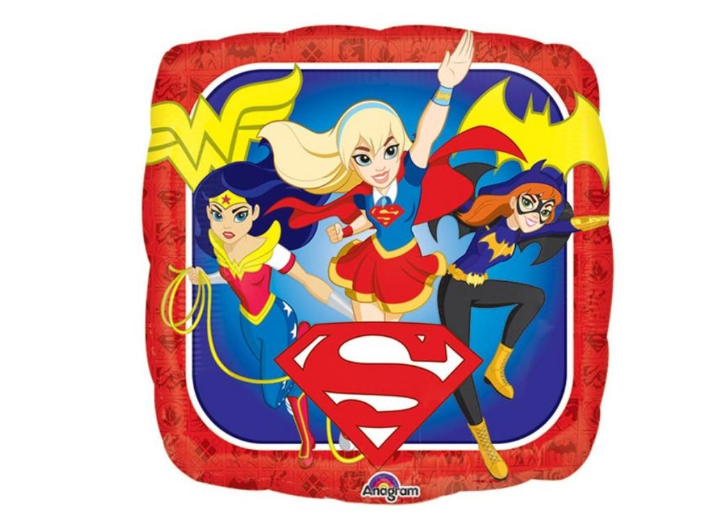 Super Hero Girls Foil Balloon