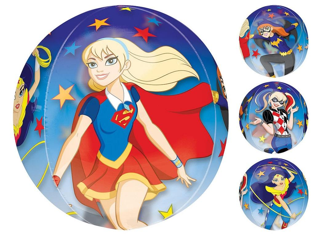 Super Hero Girls Orbz Balloon