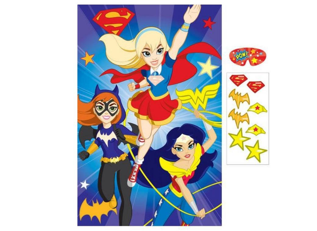 Super Hero Girls Party Game