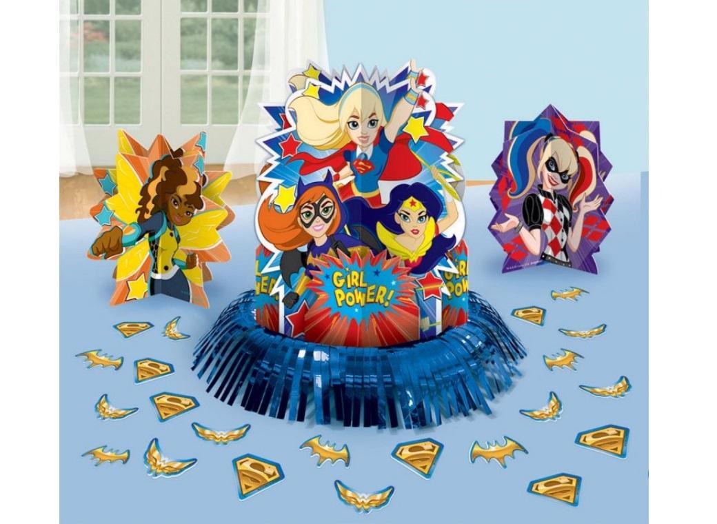 Super Hero Girls Table Decorating Kit