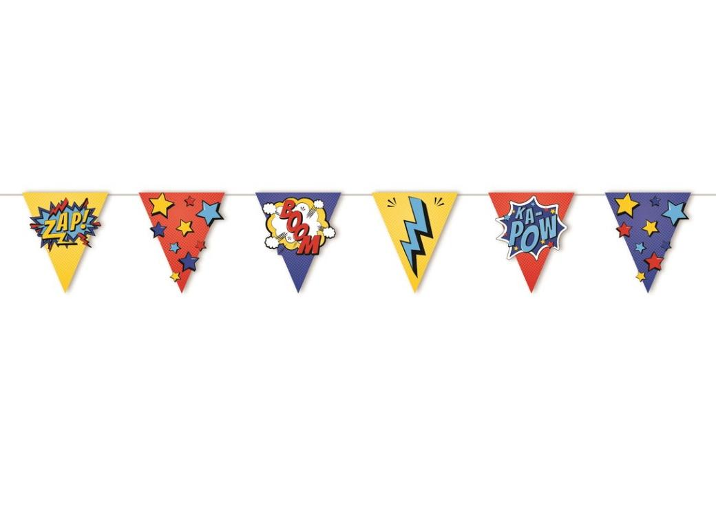 Party Bunting - Super Hero