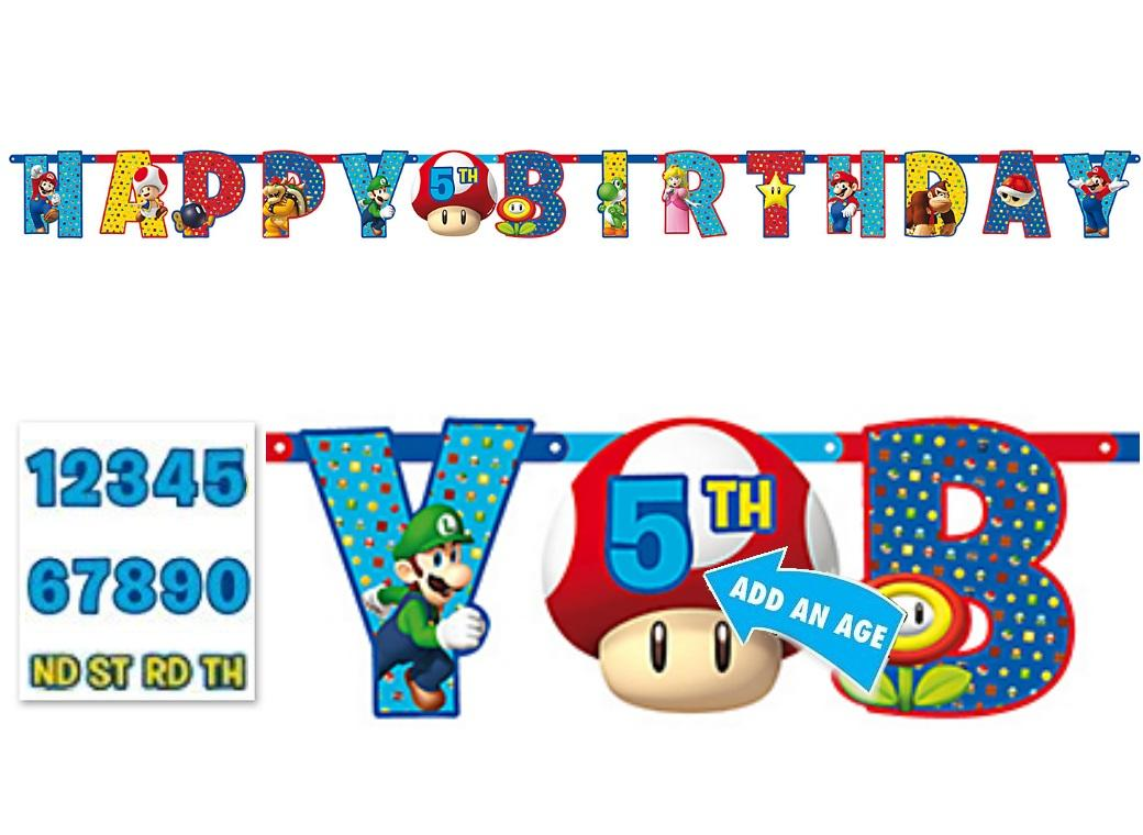 Super Mario Add An Age Banner