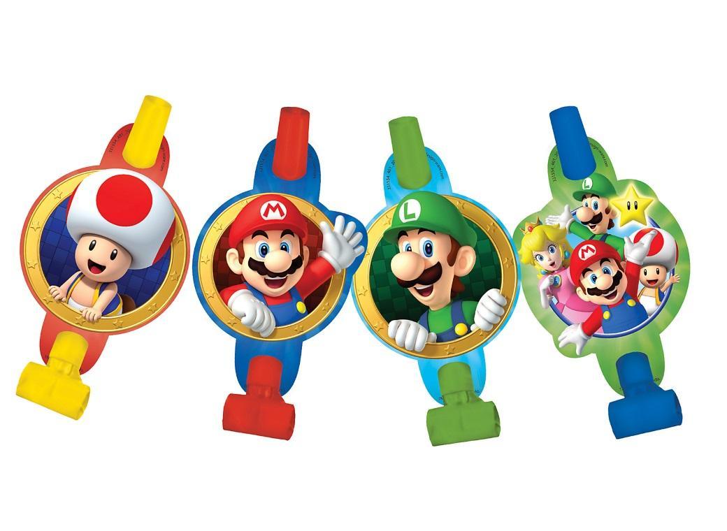 Super Mario Blowouts 8pk