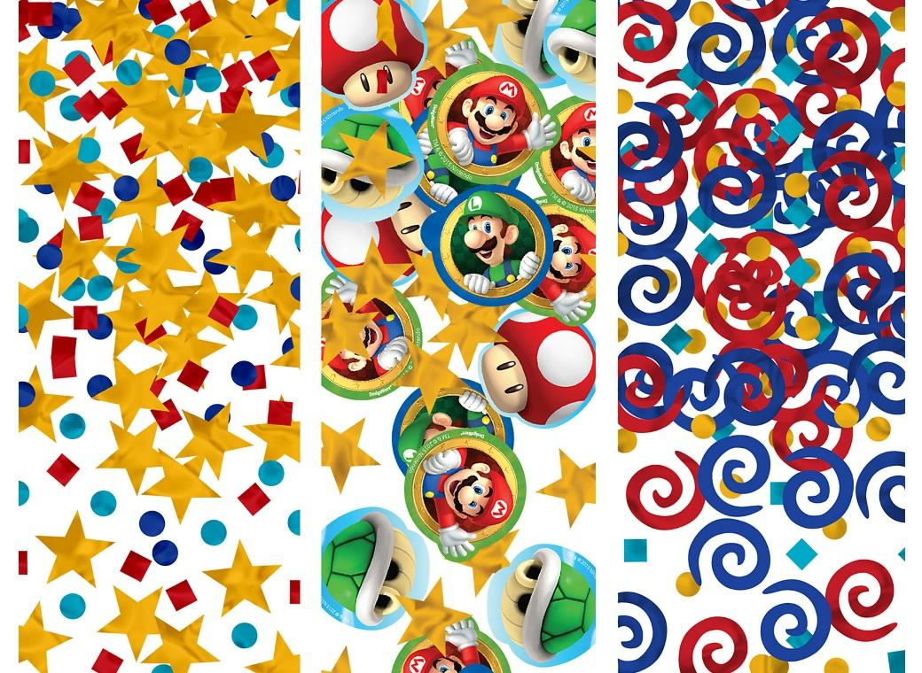Super Mario Confetti Value Pack