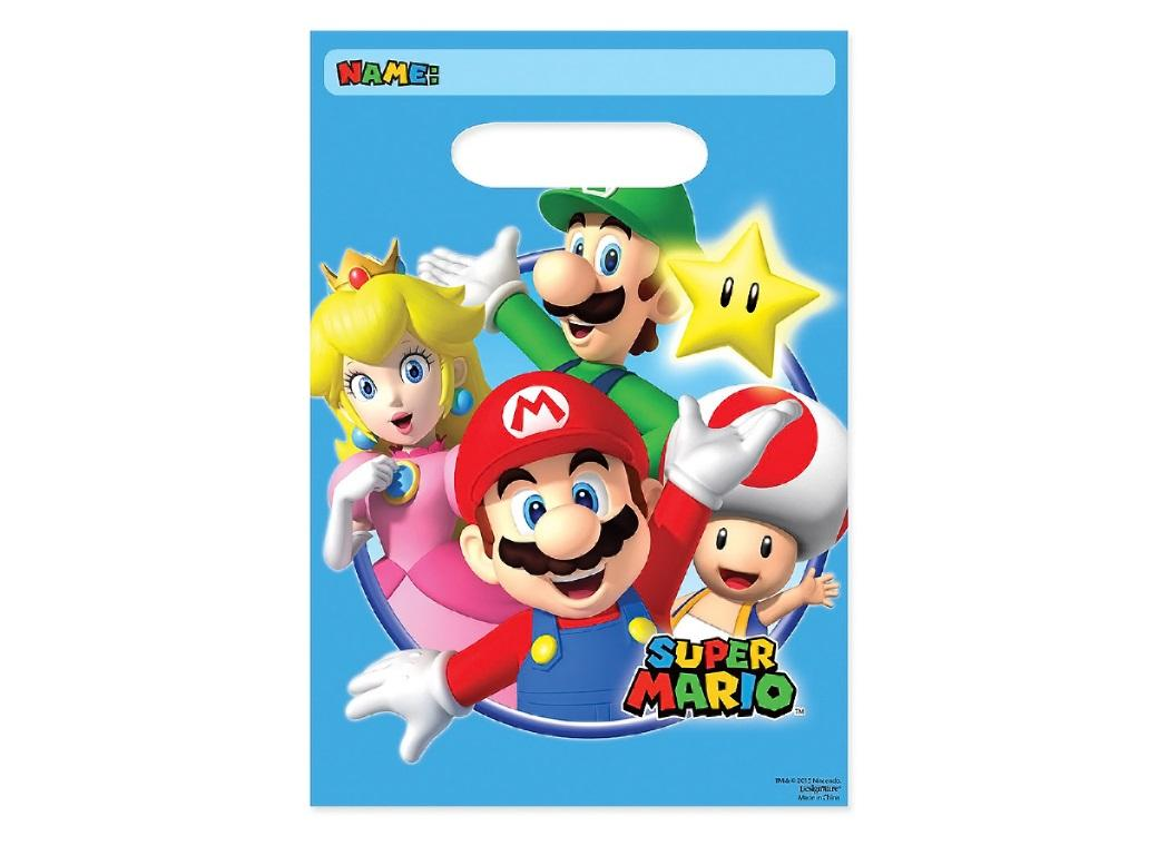 Super Mario Loot Bags 8pk