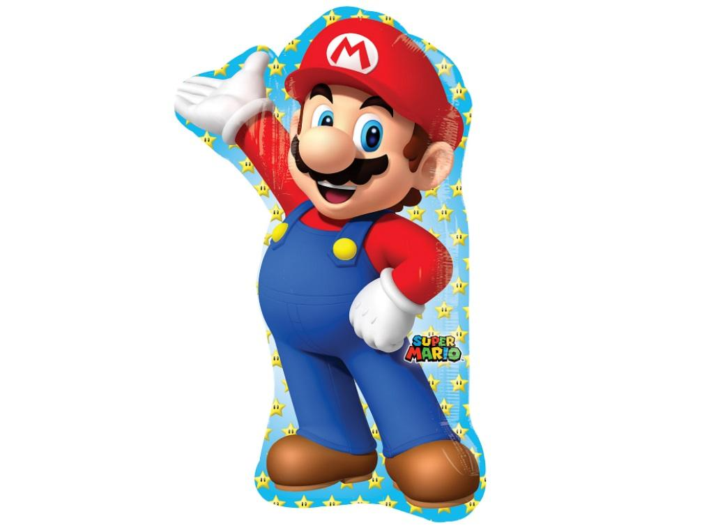 Super Mario SuperShape Foil Balloon