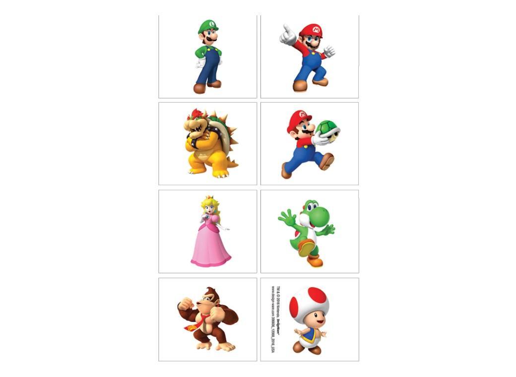 Super Mario Tattoos