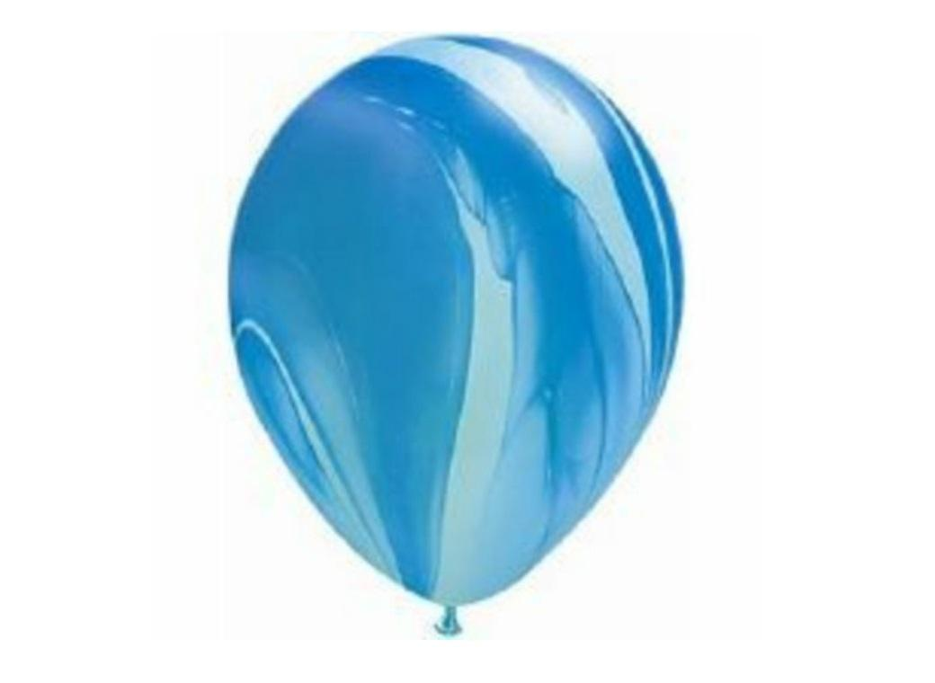 Marble Balloon - Blue