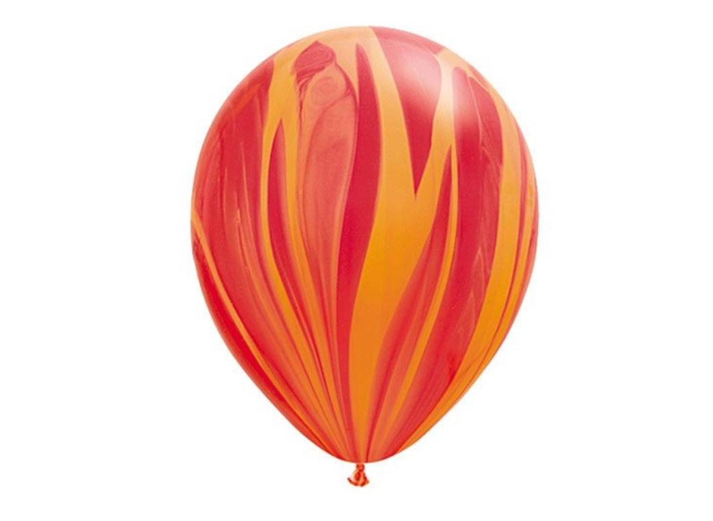 Marble Balloon - Orange