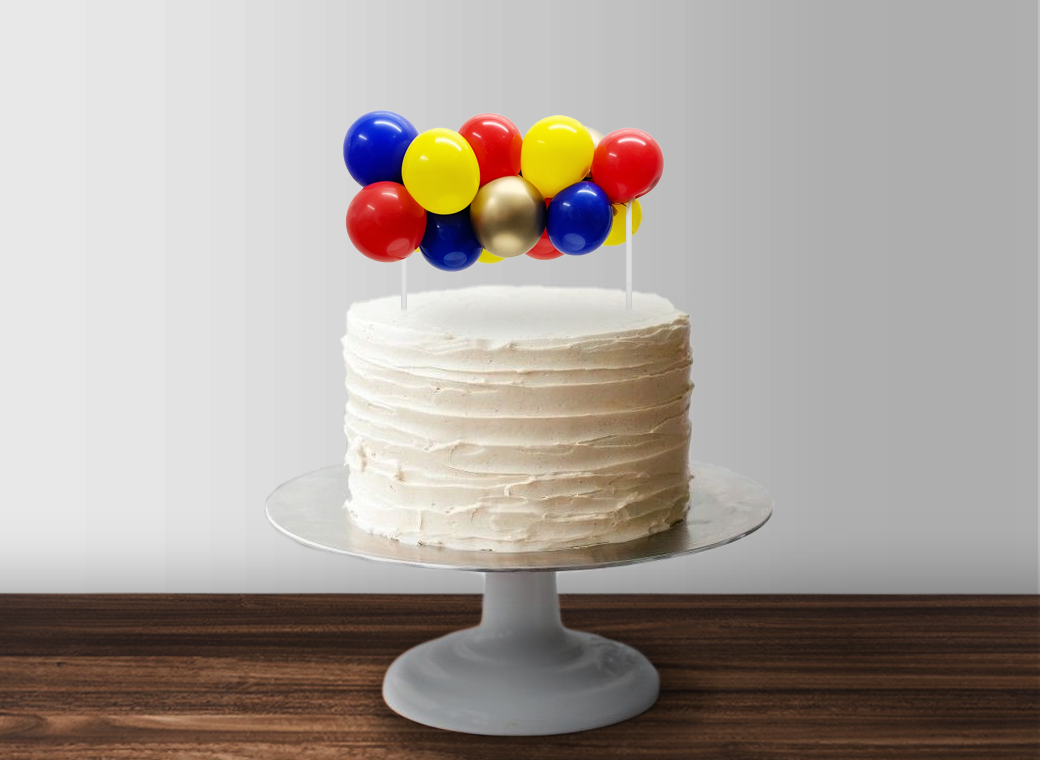 Balloon Garland Cake Topper - Superhero